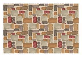 Vector de padrão de caminho de pedra