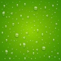 gotas de água no fundo vetor