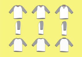 T-shirt de raglan para homem