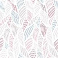 padrão de penas pastel onda abstrata vetor