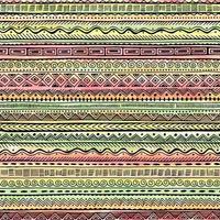 padrão étnico colorido sem costura