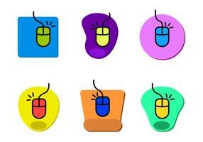 Vector de mouse pad gratuito