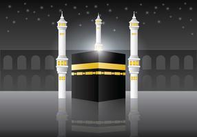 Fundo do vetor Makkah Al-Mukaram