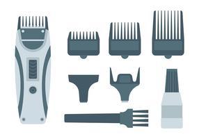 Vetor de clippers de cabelo grátis