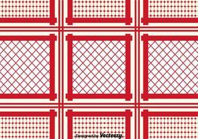 Fundo vermelho de padrão Keffiyeh
