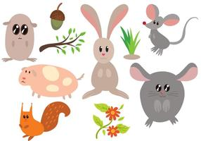 Vetores Free Critters
