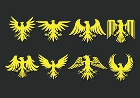 Ícones Eagle Scout vetor