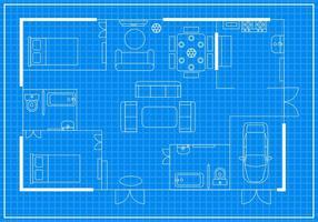 Vetor home floorplan gratuito