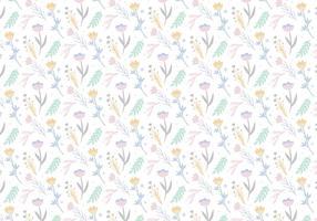 Fundo de padrões florais