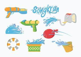Vector Songkran grátis