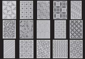 Texturas Gray Toile vetor