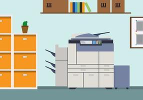 Ilustração gratuita de fotocopiadora vetor