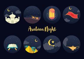 Livre Arabian Night Vector