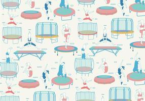 Vector de padrões de trampolim