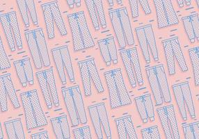 Vetor de padrões de sweatpants