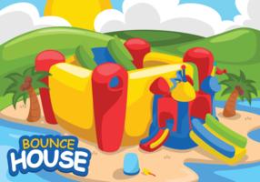 Bounce House Ilustração vetorial vetor