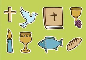 Vetor bautizo