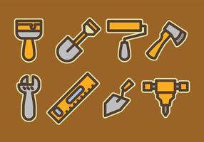 Pacote de vetores de ferramentas