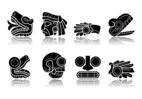 Vector de símbolo Incan grátis
