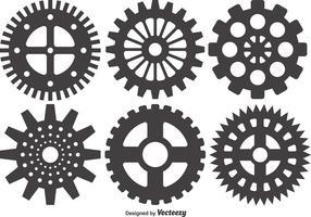 Cogs And Gears Ícone Ilustração vetorial isolado vetor