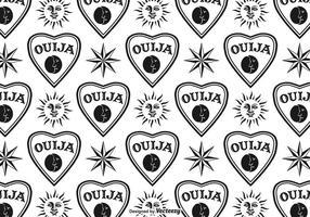 Fundo vetorial Ouija gratuito vetor