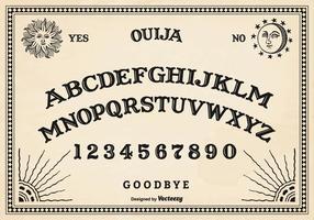 Livre vector ouija board