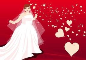Ilustração vetorial das mulheres casadas vetor