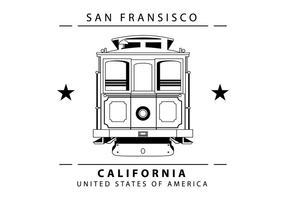 Ilustração do teleférico vetor