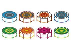 Conjunto de vetores de trampolim