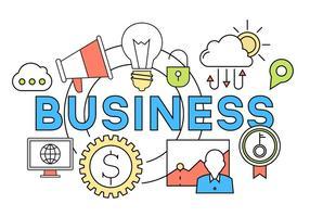 Ícones de negócios gratuitos vetor