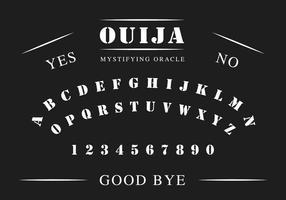 Mesa Ouija vetor
