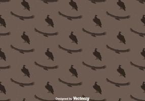 Condor bird seamless pattern background vetor