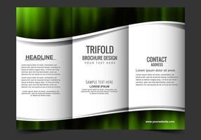 Livre Folheto Tri Fold vetor