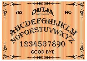 Placa vetorial gratuita Ouija Board vetor