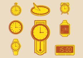 Ícone da evolução do relógio
