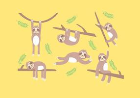 Vetor de preguiça
