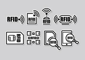 Ícones RFID