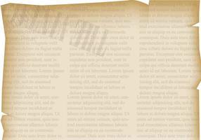 Fundo antigo do jornal antigo vetor