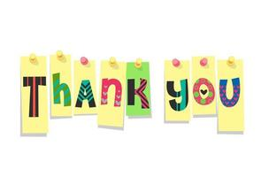 adesivo impresso 'obrigado'