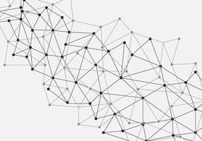 Nanotecnologia Fundo abstrato virtual vetor