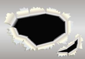 Trilhas metálicas através da ilustração vetorial vetor