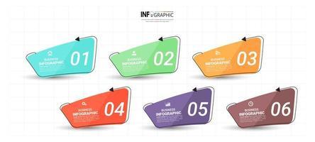 design de infográficos de linha do tempo