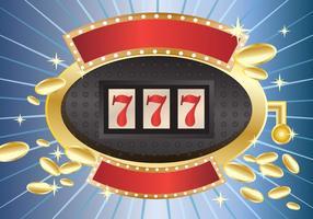 Roda da fortuna com apostas numéricas vetor