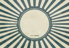 Grunge sunburst background vetor