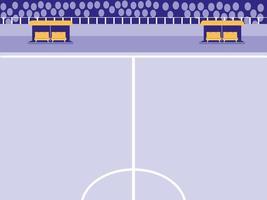 cena de estádio de futebol de futebol