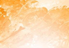 bela textura aquarela respingo de laranja vetor