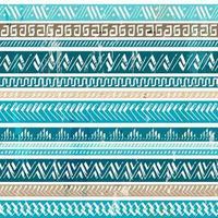 padrão azul tribal
