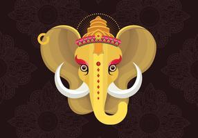 Ilustração de Ganesh vetor