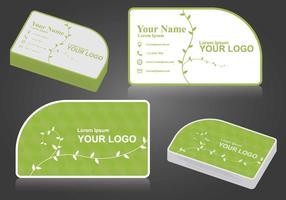 Ilustração grátis do Namecard vetor