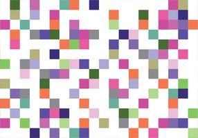 Padrão quadrado colorido vetor